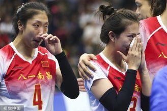 军运会中国女排1-3巴西摘银