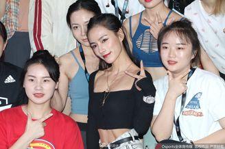 上海FIBO健身展网红云集