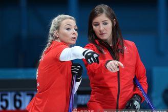冰壶女子循环赛英国8-7瑞士
