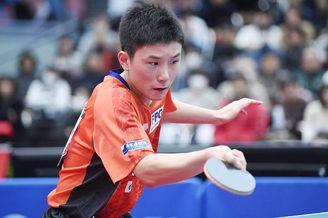 日本全国锦标赛张本智和晋级