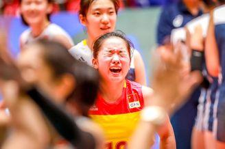 女排世青赛中国3-2巴西