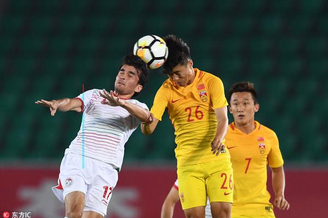 [四国赛]U21国奥1-1塔吉克