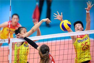 瑞士赛中国女排1-3土耳其