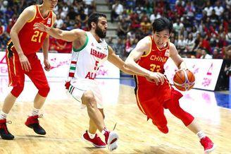 世预赛-黎巴嫩92-88中国男篮