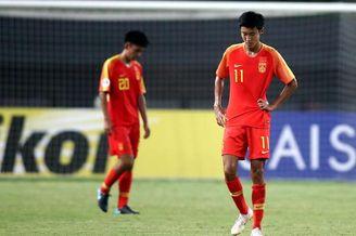 [亚青赛]中国0-1塔吉克斯坦