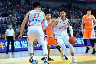 CBA首轮:八一83-87上海