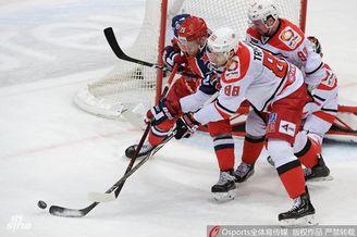 KHL莫斯科vs叶卡捷琳堡