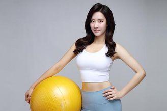 韩国网红健身美女写真