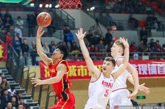 热身赛:U19国青66-60丹麦