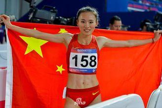 亚锦赛许双双3000米障碍赛摘银