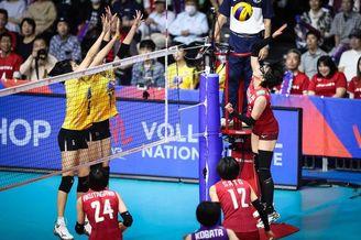 世界女排联赛日本vs泰国