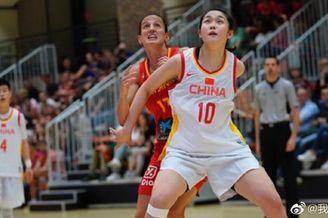 热身赛-中国女篮负西班牙