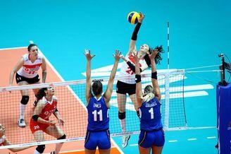 世联意大利女排3-2土耳其