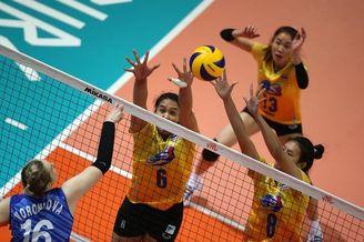 世联俄罗斯女排1-3泰国