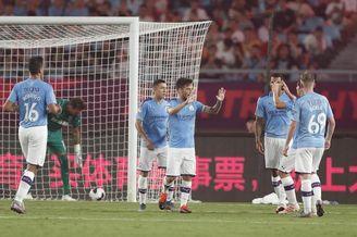直击英超亚洲杯曼城4-1西汉姆
