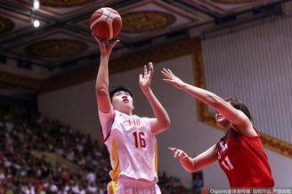 热身赛:中国女篮83-65日本