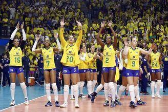 友谊赛巴西女排3-0阿根廷