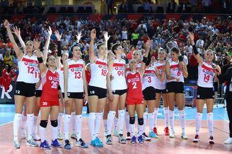 女排欧锦赛土耳其3-0荷兰