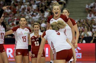 女排欧锦赛1/4决赛波兰3-2德国
