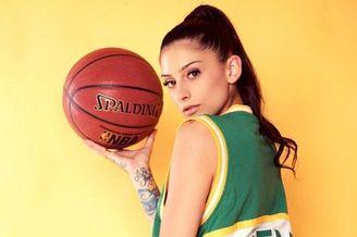 三线合一的篮球女神!心动了吗