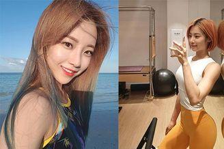 韩国90年新生女子健身教练