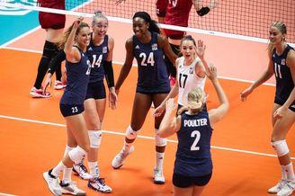 世界杯日本女排2-3美国女排