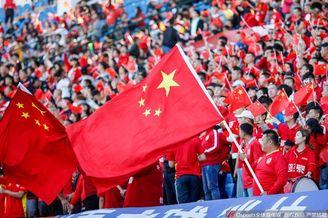 喜迎国庆!亚泰主场成国旗海洋