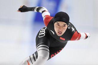 速度滑冰国家队直通选拔赛首日