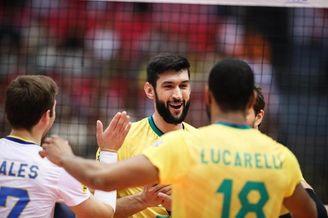 男排世界杯巴西男排夺冠