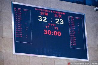 全国女手锦标赛安徽胜北京