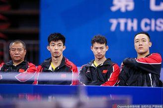 军运会乒球男团决赛中国vs朝鲜