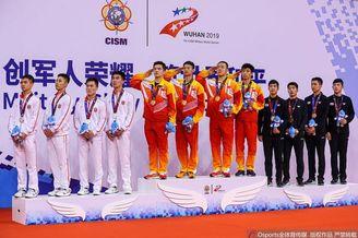 军运会乒乓球男团中国夺冠