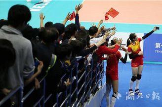 军运会中国女排进决赛