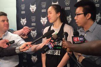 邵婷试训WNBA明尼苏达山猫队