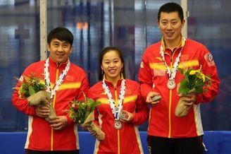 冰壶混双世锦赛中国季军
