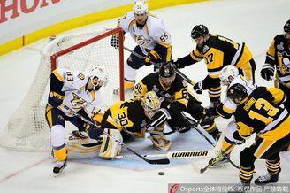 NHL总决赛匹兹堡企鹅开门红