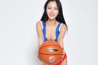 四川金强篮球宝贝甜美白皙