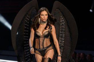 巴西超模宝贝维密大秀黑色诱惑