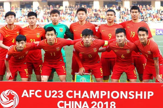 [U23亚洲杯]U23国足1-2卡塔尔