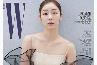 花滑女王金妍儿杂志写真