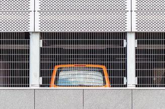 线条明了的法兰克福建筑