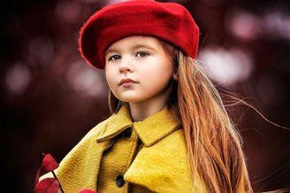 唯美清新的欧系儿童摄影