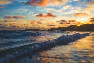 摄影描绘大海的神奇境地