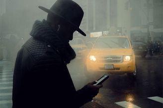 电影感十足的纽约街头