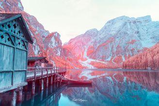 绝美风光的另类展示 红外摄影下的精彩世界