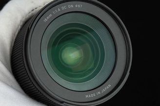 无反相机的新选择 适马16mm F1.4 DC DN开箱图赏