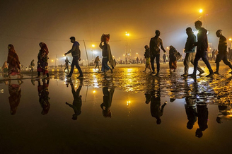 充满故事的印度街头 浓郁色彩碰撞异域文化