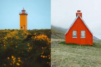 冰岛的壮阔自然 淡雅色彩下的美妙世界