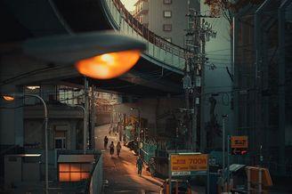 漫步日本街头 平静孤独的时刻