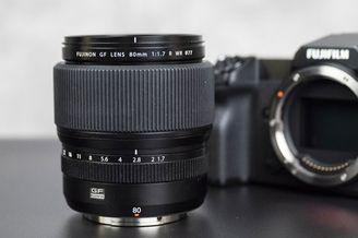 富士GF 80mm F1.7 R WR镜头外观图赏